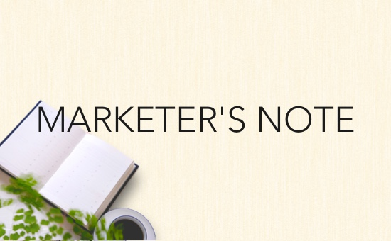 MARKETER'S NOTEの 一覧を見る