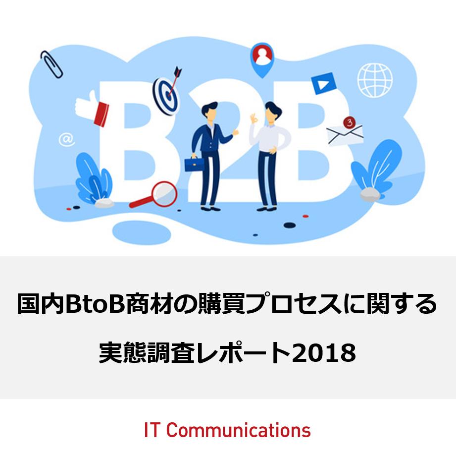 【BtoB商材の購買行動に関するアンケート調査】